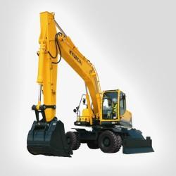 Movimiento de tierras Mini excavadora cadenas 8 TN