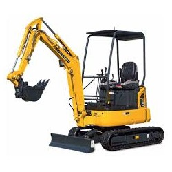Movimiento de tierras Mini excavadora cadena 1,5 TN-3,00 TN