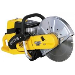 Tratamiento hormigón Moto cortadora asfalto Wacker BTS1035
