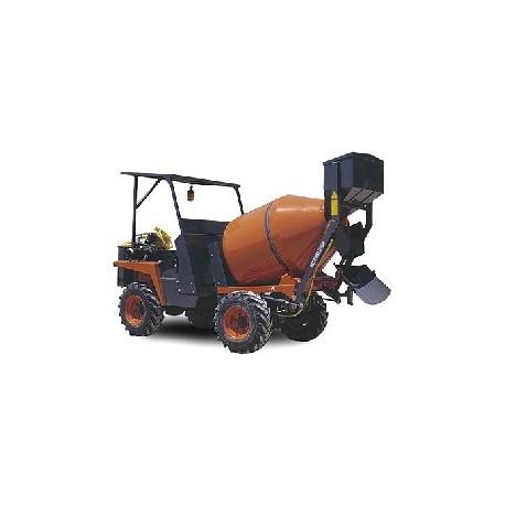 Motovolquete (Dumper) MZ 1000 HT 4X4 Autohormigonera